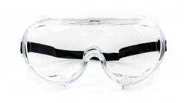 Gogle ochronne do ochrony indywidualnej oczu [EN166 F]