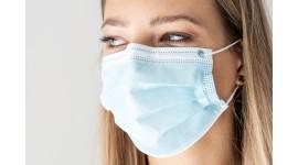 Maska ochronna na twarz (chirurgiczna) - opakowanie 50szt.